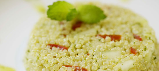 quinoa-with-cilantro-pesto