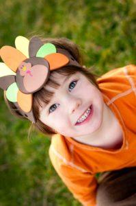Thanksgiving child