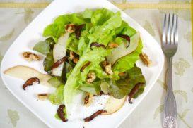pear-shitake-salad