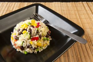 Black Bean & Quinoa Salad with Cilantro Lime Vinaigrette