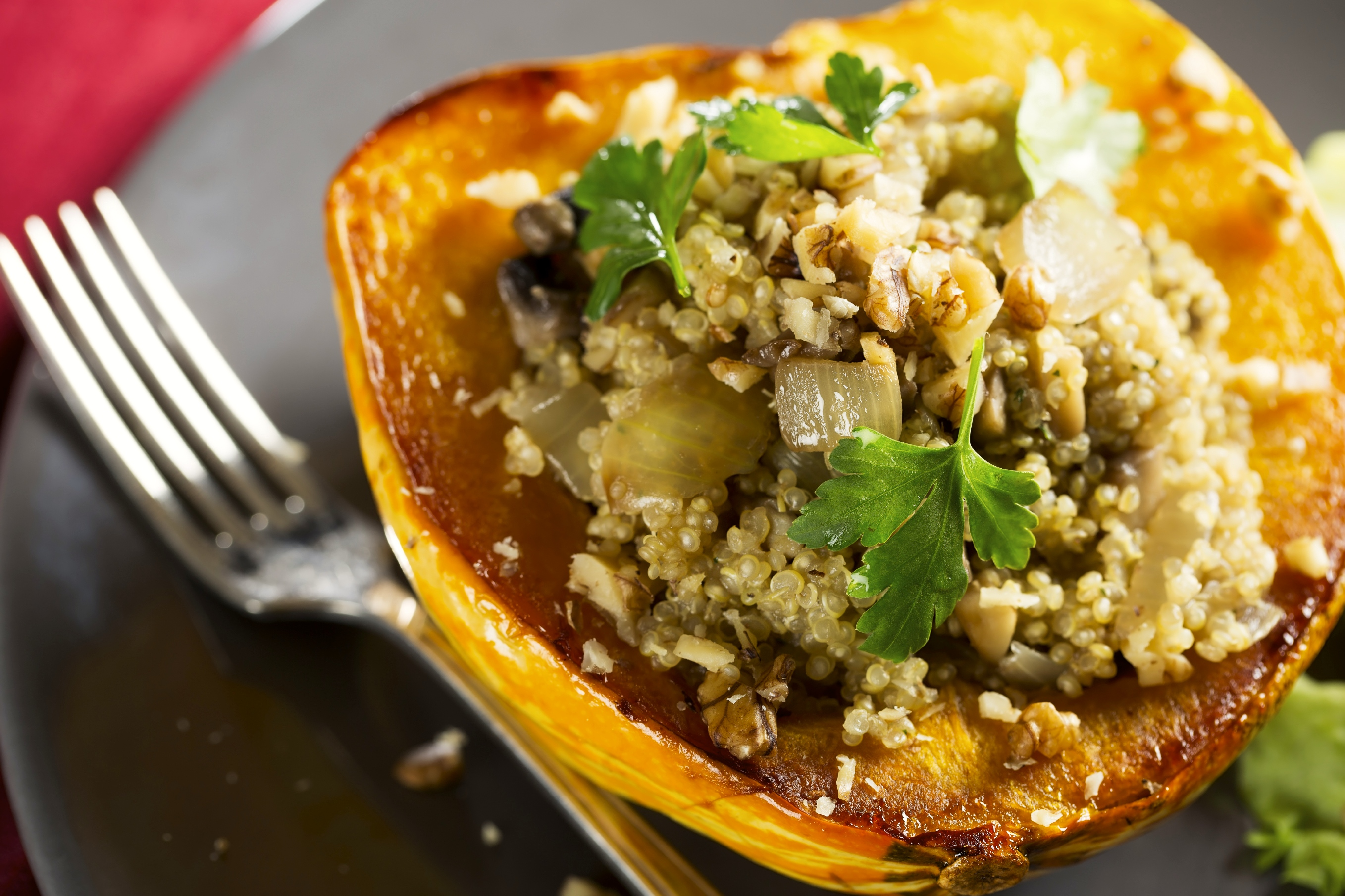 acorn squash can use carnival squash or sweet dumpling squash 2 tbsp ...