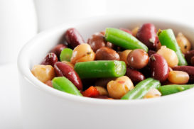 Seasonal Bean Salad