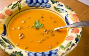 Savory Winter Squash Soup