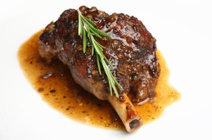 Roast Lamb Shank