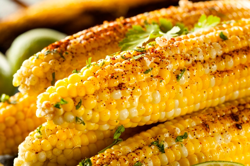 Delicious Grilled Mexican Corn