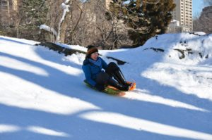 Sledding picture by Ben Rich