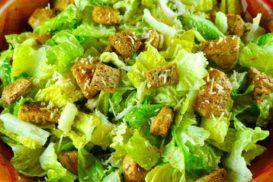 Crisp & Crunchy Caesar Salad