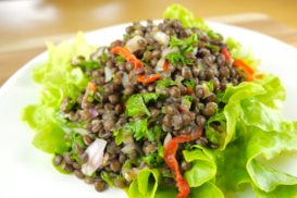 Beluga Lentil Salad with Peppadew Peppers