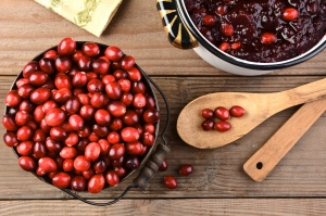 Making Cranberry Sauce for Thanksgiving