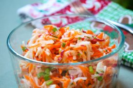 Marinated Carrot and Daikon Radish Salad