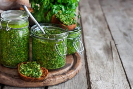Parsley, Cilantro and Pepitas Pesto