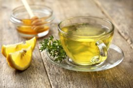 Thyme with Lemon and Honey Tea