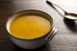 Cinnamon and Nutmeg Spiced Squash Soup