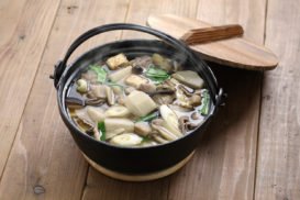 Medicinal Mushrooms and Deep Roots Soup