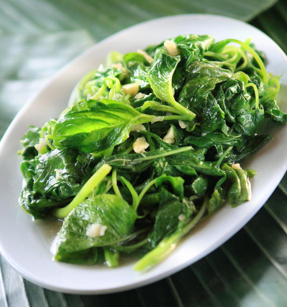 Mixed Sauteed Greens with Garlic and Olive Oil