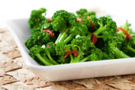 Sauteed Broccoli with Sun Dried Tomatoes