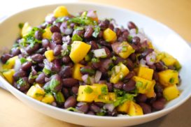 Black Beans and Mango Salad
