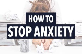 how to stop anxiety